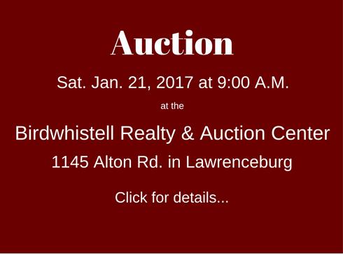 Auction Jan212017