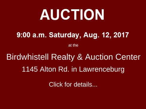 Upcoming Auction Aug 12 2017