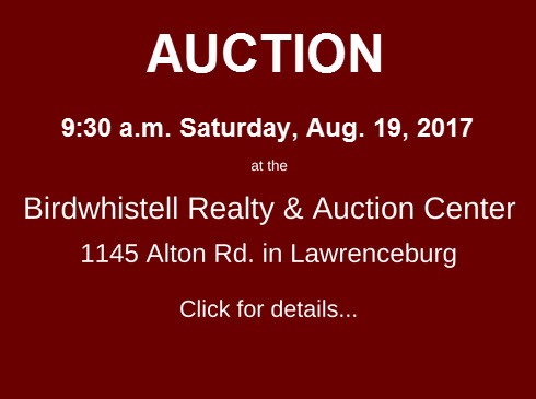 Upcoming Auction Aug 19 2017