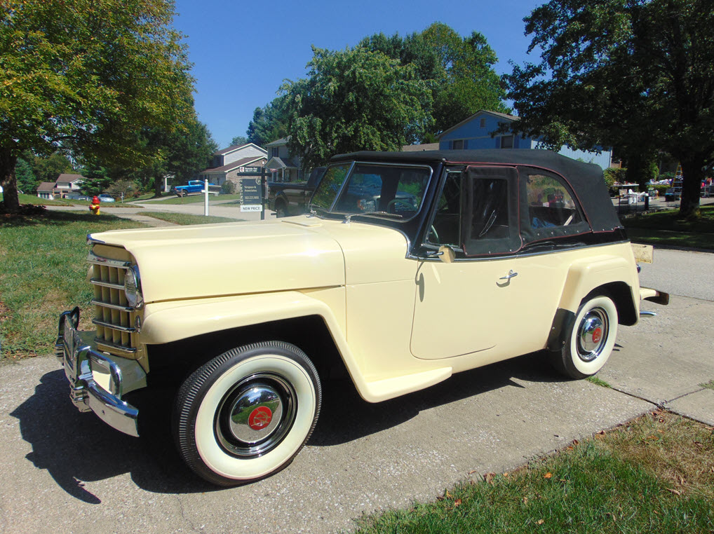 1950 Jeepster for sale